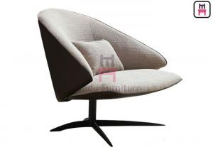 Cheap 0.8cbm Cashmere Upholstered Leisure Chair 4 Spoke for sale
