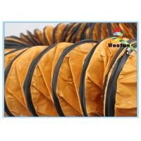 Cheap Industrial High Temperature Exhaust Hose Flexible PVC Environmental Friendly for sale