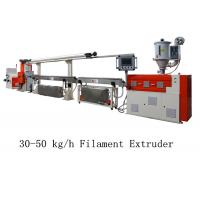 Cheap 30 - 50 kg/h 3D Printer Filament Extruder Line Single Screw Making Machine for sale