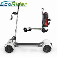 Cheap EcoRider Scooter Golf Bag Carrier 1000w Four Wheels 40-60KM Mileage Brushless DC Motor for sale
