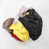 Cheap auto cleaning 20kg/Bag Colored T Shirt Rags for sale