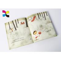 Quality Cartoon Custom Book Printing Services , Children Perfect Bound Book Printing wholesale