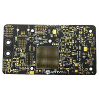 Cheap High TG Black Soldermask Prototype Multi Layer Pcb Laser Drill Communicate Electronics Board for sale