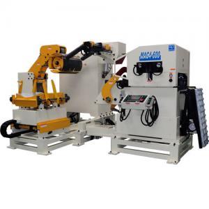 Cheap Fast Speed Punch Feeder Metal Sheet Straightening Machine / Wire Rope Press Machine for sale