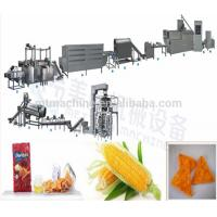 Cheap Full automatic Corn Doritos Tortilla Chips/Doritos Triangle corn chips Snack Food manufacturing plant/machinery for sale