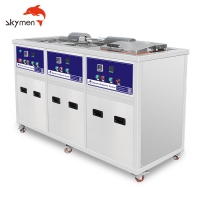 Cheap Rotary Basket Coins 500L Benchtop Ultrasonic Cleaner 40KHz SUS304 for sale