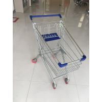 Buy cheap Supermarket Grocery Shopping Cart With Zinc plating clear powder coating from wholesalers