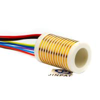 Buy cheap 12 Circuits Separate Slip Ring Gold to Gold Contact 250mm Flexible Rotary from wholesalers