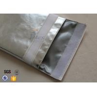 Large a4 size no itchy fiberglass fire resistant pouch for Fiberglass insulation fire resistance