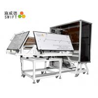 Cheap Full Automatic Cable Tie Machine , Customized Plastic Tie Machine With A Robot for sale
