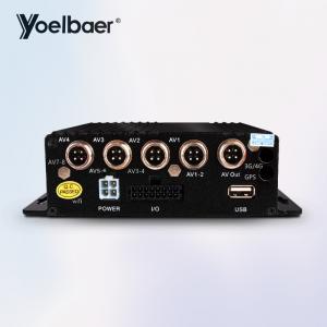 Cheap Truck Hybrid SD Mobile DVR Vehicle Car CCTV DVR 4CH Sd Card Video Recorder for sale