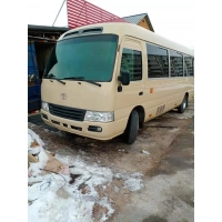 Cheap 23 Seats Toyota Coaster Used Mini Coach 2008 Year for sale