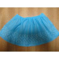 Buy cheap Indoor Carpet Protector Disposable Shoe Covers Blue / Green Color Light Weight from wholesalers