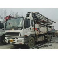 Cheap 2010 Year Used Concrete Pump Truck ISUZU-ZOOMLION Brand With 43m Pump for sale