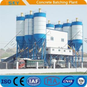 Cheap Pipe Segments Pile Box Culvert 180m3 Precast Batch Plant for sale