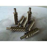 Cheap 40Cr, 42CrMo steel alloy and brass precision helical worm gear for reducer for sale