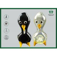 Buy cheap Sliver Animal Duck Shape Hand Blown Glass Pipe GP-049 5Mm Glass Thickness from wholesalers