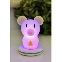 Cheap Commercial Safe Multicolor Rechargeable Led Night Light No Sharp Parts for sale