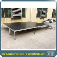 Quality Hot Aluminum Adjustable Four Legs Stage Decent Stage Platform for Events, Concerts,Performances,Special events for sale