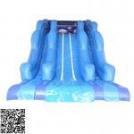 Cheap Large Ocean Style Pvc Inflatable Water Slides Set For Amusement Park Centre for sale