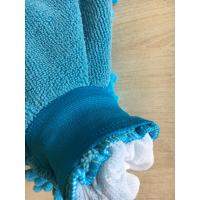 Cheap House keeping  washing absorb mitt 100% polyester microfiber mitt gloves for sale