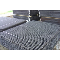 Cheap 1.0-5.5mm Square Hole Stainless Steel Crimped Wire Mesh for sale