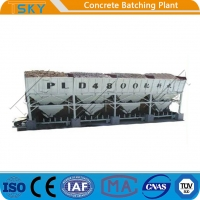 Cheap PLD2400 Integrated Design Aggregate cement Batching weighing Machine for sale