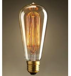 Cheap ST64 E27 Edison bulbs for sale