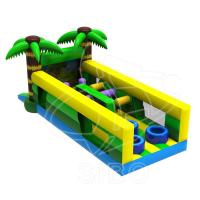 Quality Latest Design Inflatable Kids Bouncer Play Ground Bouncer Obstacle Course For wholesale