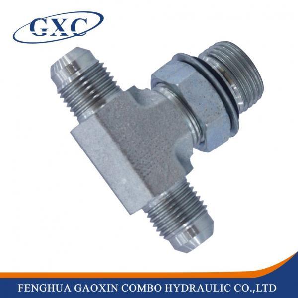 Ajhj og jic hydraulic flare tube end fittings carbon