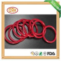 Red Acid Resistance EPDM Customized O Rings Ageing Resistance For Chemical Manufactures