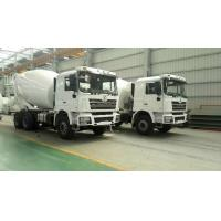Cheap SHACMAN Second Hand Concrete Mixer Trucks , Used Concrete Mixer 99 Km/H Max Speed for sale