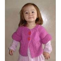 China Unique knitting knitted sweater, short sleeve sweater customizable with fashionable design on sale