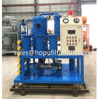 Cheap Double Stage Vacuum Transformer Oil Purifier, Mineral Dielectric Oil Purification Plant for sale