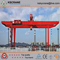 Cheap Manufacturer Direct Sale Double Girder Rubber Tyre Gantry Crane/Tyre Mounted Crane for sale