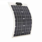 Cheap 50 Watt RV Flexible Solar Panels PET Front Sheet 4.44A 18V flexible solar panel for boat for sale
