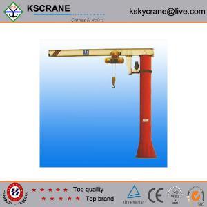 Cheap Material Handling Column Swing Lever Crane for sale