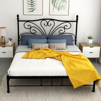 Cheap Comfortable Bedroom Furniture ODM King Single House Bed 1.2mm Thickness for sale