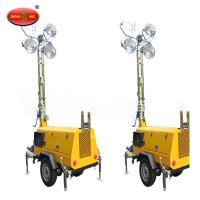 Cheap MOS-2400A-L Portable Mobile Solar Powered Mobile Light Tower for sale