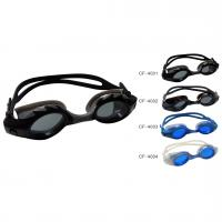 China Small Black Color Professional Swimming Goggles,  anti fog swimming goggles Anti-Fog Lens on sale