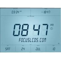 Cheap Custom 12 O'Clock LCD Display VA LCD made by Shenzhen Factory Custom Made Display for sale