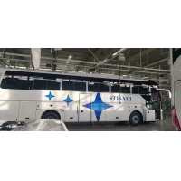 Cheap Brand New Yutong Bus ZK6122H9 With 55 Seats White Color In Promotion Rear Engine for sale