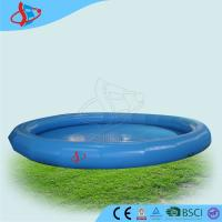 Cheap Rounded Water Pool For Kids ,  Plato PVC Inflatable Swimming  Pool In The Open Air for sale