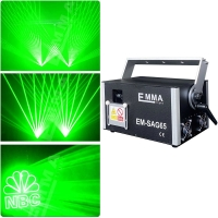 Cheap high power 5W Green color animation laser 3D stage light/ Led moving head laser DJ stage lighting for sale