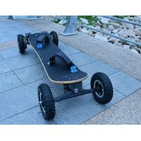 Cheap 1800Watt Brushless Hoverboard Scooter , EcoRider Electric Skateboard Maple Deck for sale