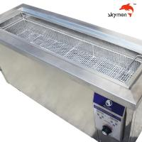 Cheap 2m Length 4500W Blind Ultrasonic Cleaner 160L Tank Removing Dust for sale