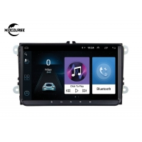 Cheap ANDROID VW SKODE SEAT PASSAT AUTO HEADUNIT 2 DIN CAR NAVIGATION CAR DVD PLAYER 4G LTE 9INCH RAM1G 2G for sale