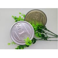 Cheap FDA Eco-Friendly Plastic Cans Easy Open Lid , 99mm Aluminum Lid for sale