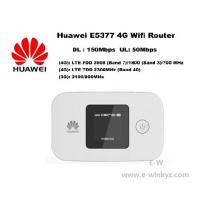 Cheap Original Unlock LTE FDD 150Mbps HUAWEI E5377 4G wireless Router With Sim Card Slot for sale