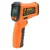 Cheap 12 Point Handheld Infrared Thermometer Operation Temp -50~800 Degree With Back Light for sale